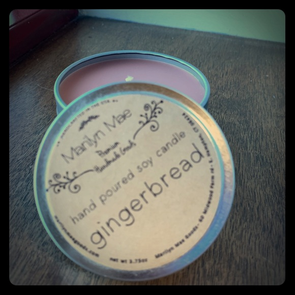 Marilyn Mae Farm Other - Handpoured Soy Gingerbread Candle